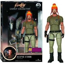 Firefly Legacy Collection Jayne Cobb Exclusive Action Figure #2 [Hat Variant]