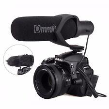 CoMica Electrit Super-Cardioid Directional Condenser Shotgun Video Microphone