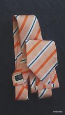 Van Laack Corbata de Seda Multicolor Ancho 9cm Nuevo Paquete Original 116 Nuevo