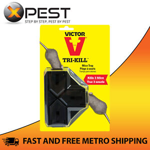 Victor Tri-Kill Mouse Trap 3-way Mouse Trap