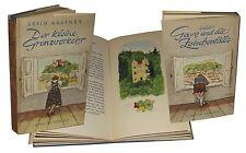 Der Kleine Grenzverkehr Erich Kästner Atrium Verlag 1949 illustrationen Trier