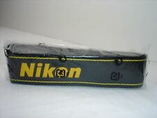 Genuine NIKON CAMERA NECK STRAP Black / Yellow  AN-DC1 for DSLR / SLR  New !