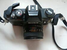 Konica Autoreflex TC With Hexanon AR 50 MM F17 Lens