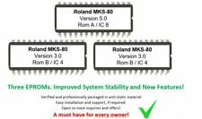 Roland MKS-80 - Revision 5.0 CPU & Moduleboards Update Firmware Eproms for MKS80
