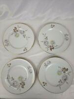 Johann Haviland Bavaria Germany Set Of 4 Sweetheart Rose Plates 8 Inches