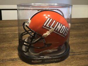 ILLINOIS FIGHTING ILLINI NCAA Schutt XP Authentic MINI Football Helmet