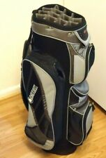 DATREK CART BAG BLACK AND GREY COLOR WITH 14 CLUB DIVIDERS