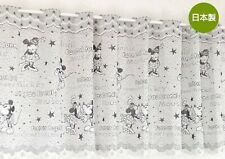 Disney Mickey Minnie Mouse polyester half cafe curtain home kitchen window decor
