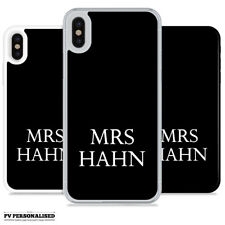 INITIALS PERSONALISED HARD BACK PHONE CASE COVER FOR APPLE IPHONE 4 5 6 6S SE