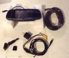 """SHARP RV CAR TFT LCD 9"""" REARVIEW BACKUP MONITOR WITH WIRING & CABLE CAMPER BUS"""