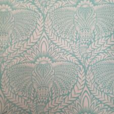 RARE TULA PINK EDEN * DIETY  MOJITO Cotton Fabric 1/2 YD mint green FREE SPIRIT