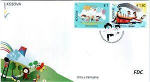 Kosovo Stamps 2020. Children's Day. FDC MNH