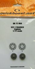 Quickboost 1/72 S2F-1 Tracker Engines for Hasegawa # 72059