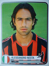 PANINI 251 Alessandro Nesta AC Milan Champions of Europe 1955-2005