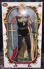 Disney Limited Edition Designer Sleeping Beauty Prince Phillip Doll NEW!