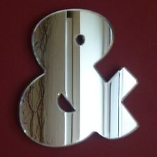 Contemporary Ampersand Acrylic Mirror (Several Sizes Available)