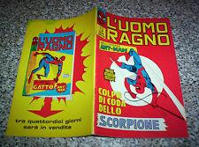 L'UOMO RAGNO N.23 CORNO ORIGINALE DI RESA OTTIMO NO F4 DEVIL THOR AMERICA CONAN