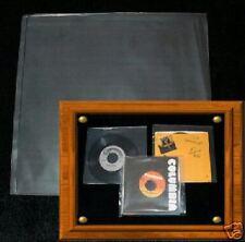 """7"""" 45rpm Vinyl Records♫LOT OF 1000♫Clear Covers/Bags/Jacket/Liner♫NO ACID+NO FAT"""