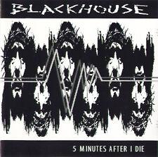 BLACKHOUSE five minutes after i die CD