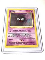 GASTLY - Base Set - 50/102 - Common - Pokemon Card - Unlimited Edition - NM