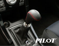 Pilot Automotive Aluminum Black White Automatic /& Manual Shift Knob US SELLER