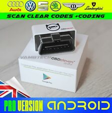 OBDeleven PRO Professional OBD2 Bluetooth Diagnostic Scan Code Tool For Android