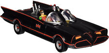 BATMAN 1966 Classic TV Series 1/18 Batmobile Robin Bendable Figures DIECAST CAR