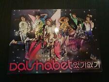 Dal Shabet '5th mini album' Signed