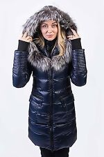 TOWMY BY SNOWIMAGE Down Coat with Natural Fur