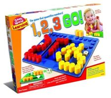 Small World Toys 1 2 3 Go! Number Plastic Board Game