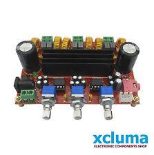 TPA3116 2.1 CHANNEL DC 12V-24V 2*50W+100W XH-M139 AUDIO Amplifier BOARD BE0958