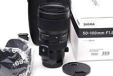 Sigma 50-100mm f1.8 dc HSM tipo F. Canon