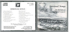 SPIRITUAL SONGS The Musicians Of Melodious Accord CD Alice Parker, Conductor