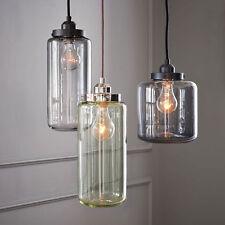Retro Vintage Industrial Crystal Ceiling Lamp Pendant Lighting Fixture 3 Bulbs
