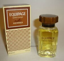 HERMES EQUIPAGE MEN PERFUME'D AFTERSHAVE LOTION 50 ML SPLASH 1.7 OZ VINTAGE NIB