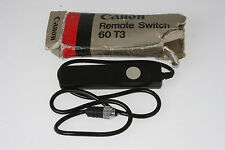 Canon Remote Switch 60t3, avec NEUF dans sa boîte EOS Pour Les Caméras Canon: EOS 1d/1ds Mk II (N