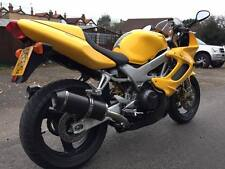 HONDA VTR1000 Firestorm SC36 Carbon oval Carbon Outlet Road Legal Exhausts Can