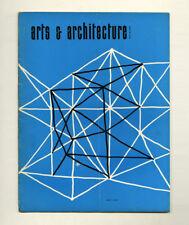 1954 R. M. Schindler ARTS + ARCHITECTURE Esther McCoy Claire PORSET Gyorgy KEPES