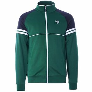 Sergio Tacchini Men's Orion TT Track Top Botanical Green