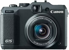 Canon PowerShot G15 12MP Digital Camera with 3-Inch LCD (Black) 6350B001 - NIB
