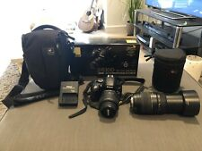 Nikon D5100 DSLR Camera & 2 Lenses 18-55mm VR & Tamron 70-300mm WithAccessories