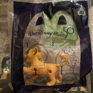 2021 Walt Disney World 50th Happy Meal Toy Celebration Simba # 32  NEW