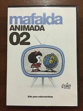MAFALDA ANIMADA VOL 2- COLECCIONISTAS - 1 DVD PAL 2 - SLIMCASE - QUINO - PUBLICO