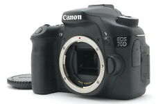 【N Mint】Canon EOS 70D 20.2MP Digital SLR Camera Black Body Only From Japan #844