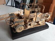 1/35 built Truck On Diarama Base