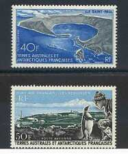 French Antarctic SG45/6 Unmounted Mint