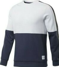 MENS REEBOK LES MILLS CREW SWEAT SHIRT SIZES XS- S-M-L-XL-XXL £19.99 RRP £49.99