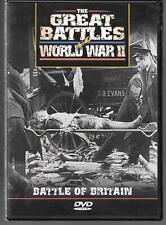The Great Battles of World War II, Battle of Britain Documentary (1998) USED DVD