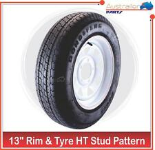"RIM and TYRE 13 INCH SUNRASIA MULTIFIT FORD and Holden HT 13"" LIGHT TRUCK"