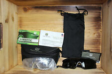 New Black Sawfly Revision Military Goggles Eyewear w Lenses & Case Set Kit, Reg